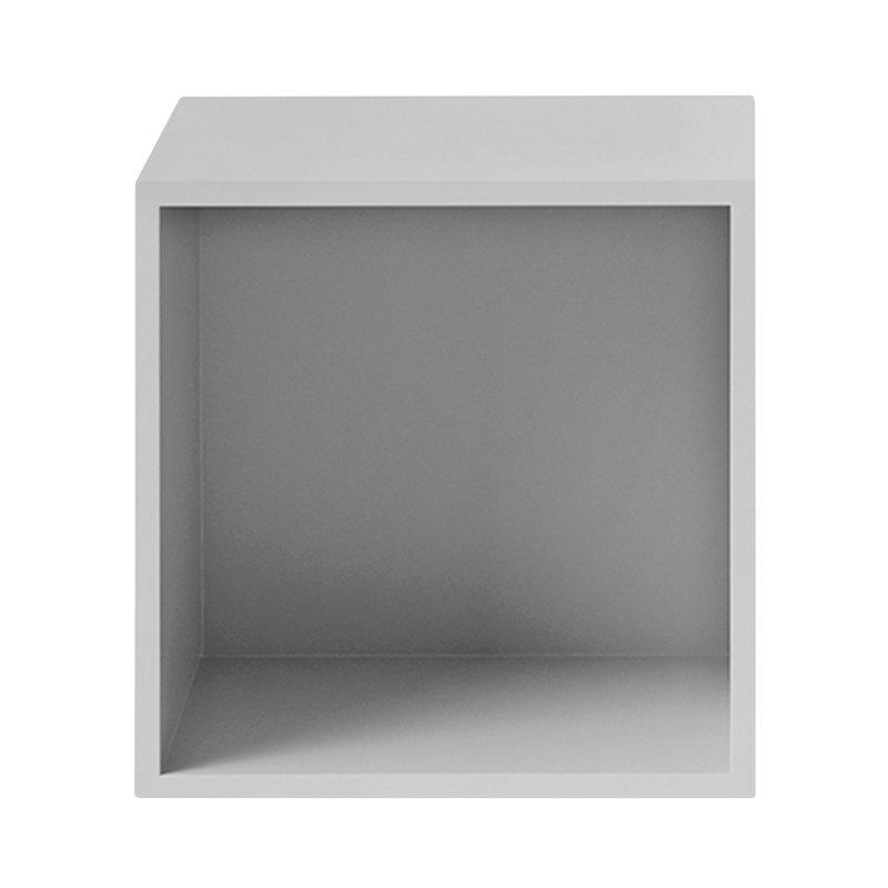 Stacked 2.0 shelf module with back, medium