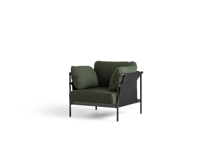 Can lounge chair, Black Frame