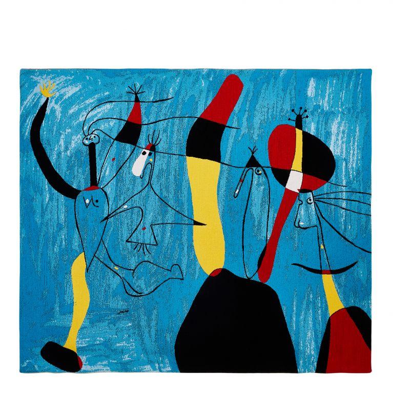 Miró 'Pour Pilar de Tout Coeur' Tapestry