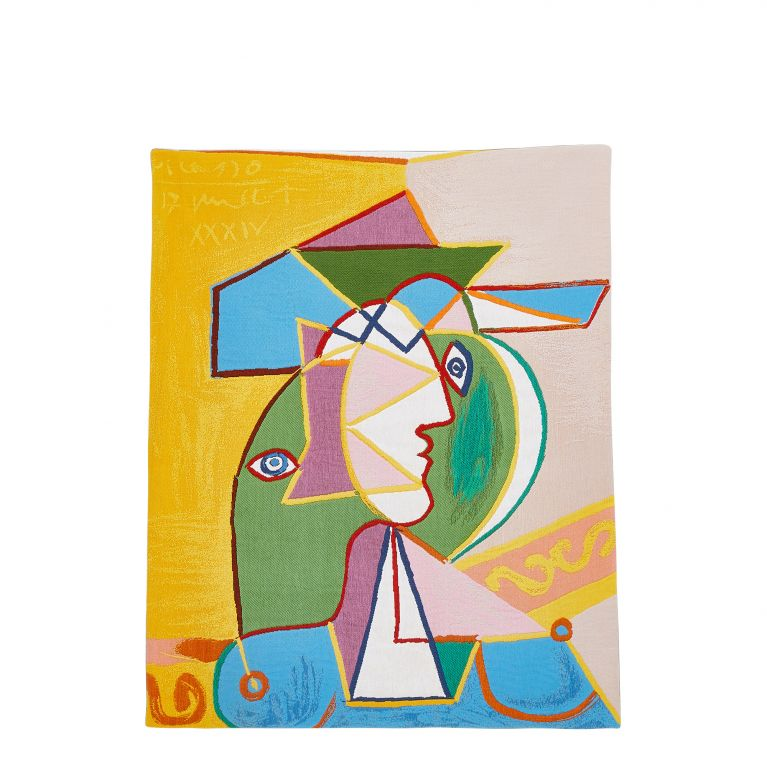 Picasso 'Femme Au Chapeau' Tapestry