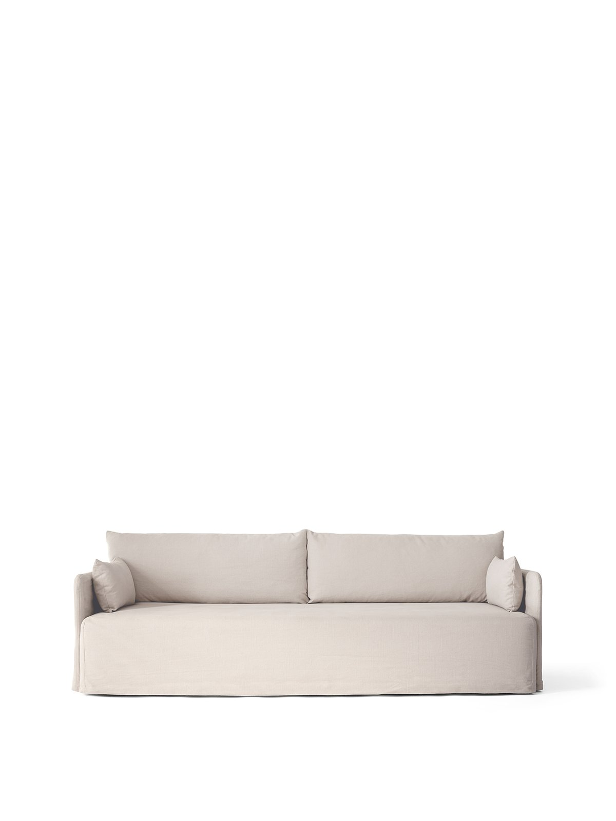 Offset 3 seater sofa with Loose Cover