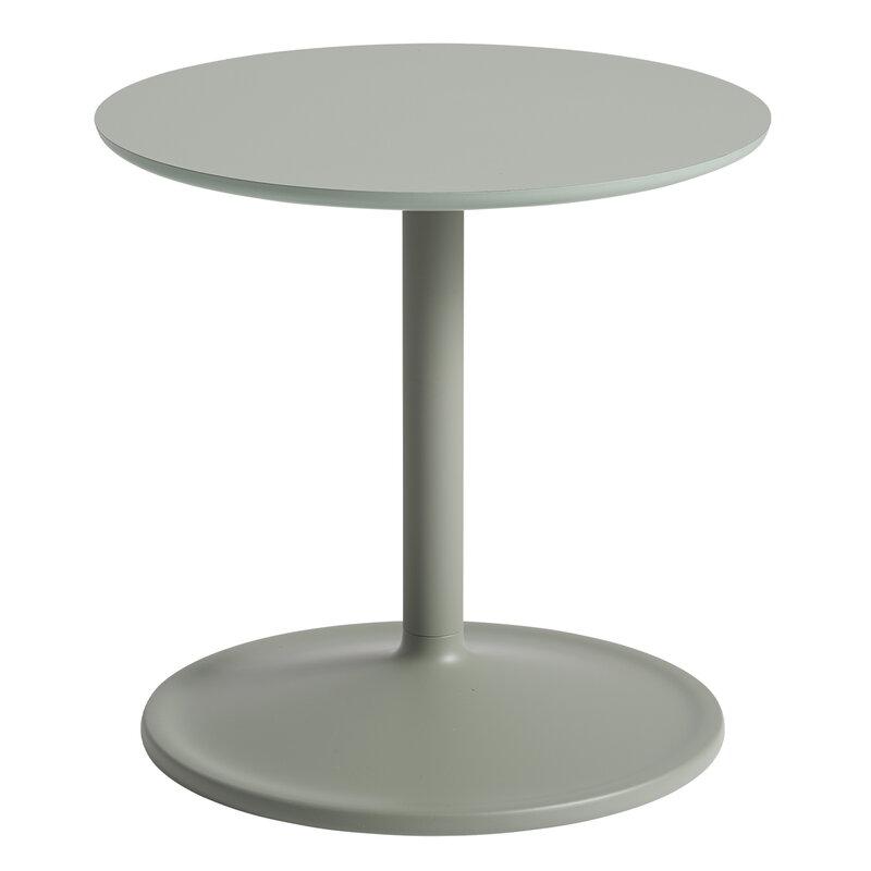 Soft side table, Ø 48 H: 40 CM