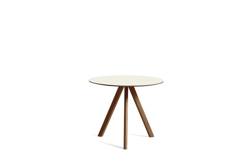 CPH 20 Table Ø90 X H74cm Walnut