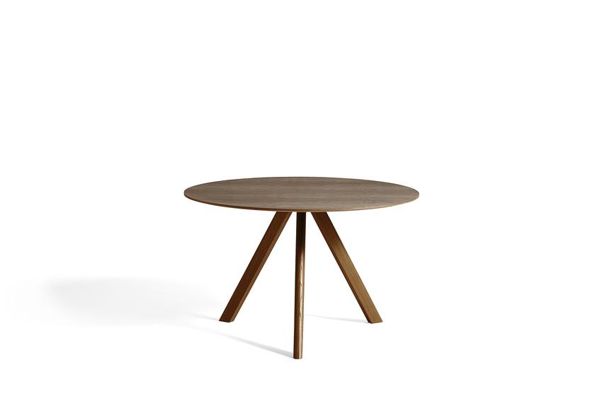 CPH 20 Table Ø120 X H74cm Walnut