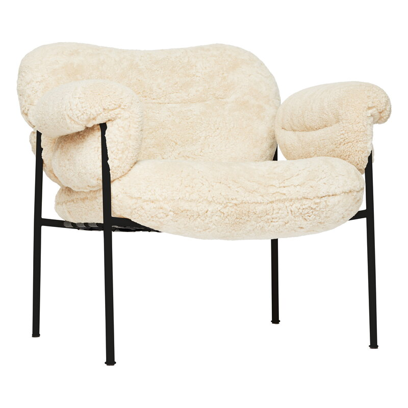 Bollo armchair-Sheepskin